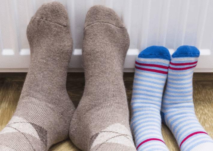 cause des pieds froids