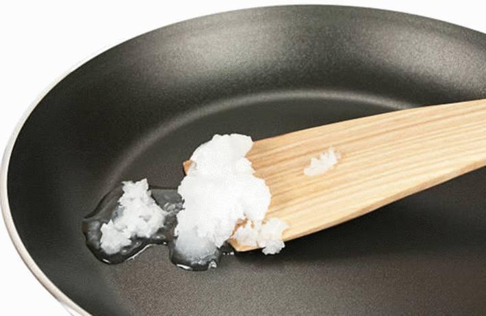 huile de coco pour faire la cuisine