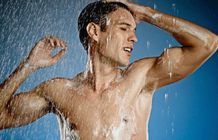 comment se laver quand on est un homme
