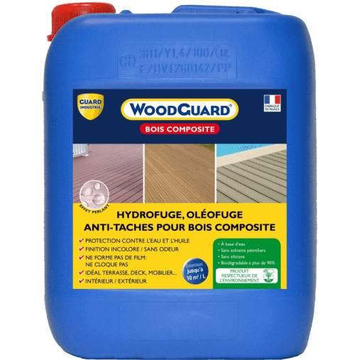 anti tache pour bois composite : Wood'Guard bois composite