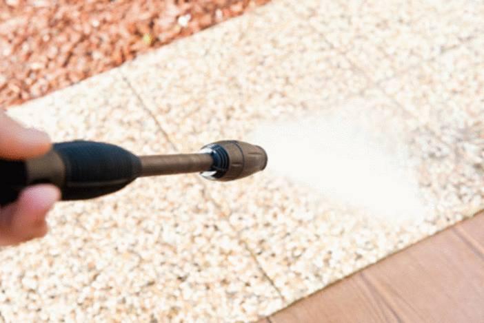 nettoyer les terrasses