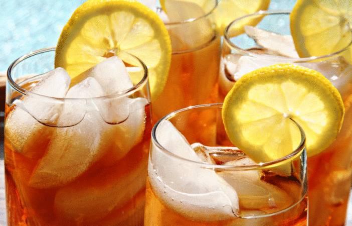 comment faire un thé glacé