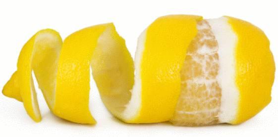 zeste de citron astuce beauté et santé